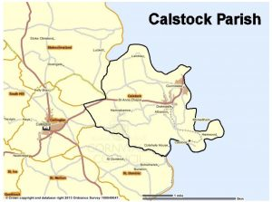 Calstock Parish Boundary