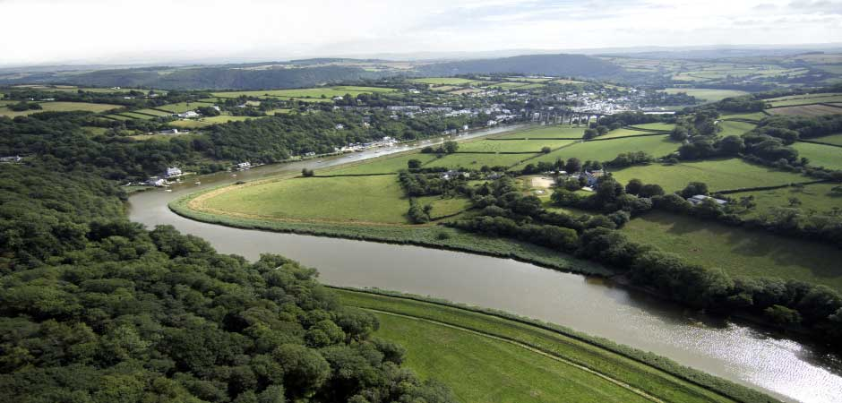 Calstock Environment Agency works