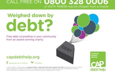 Christians Against Poverty Debt Counselling Drop In Sessions