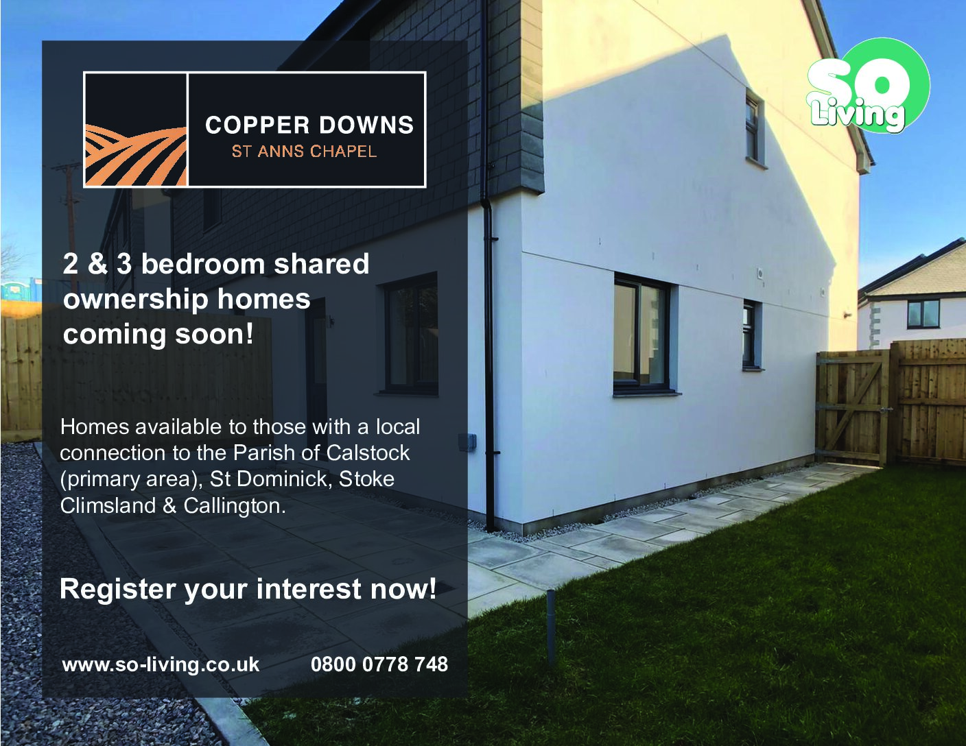 Shared Ownership Opportunities